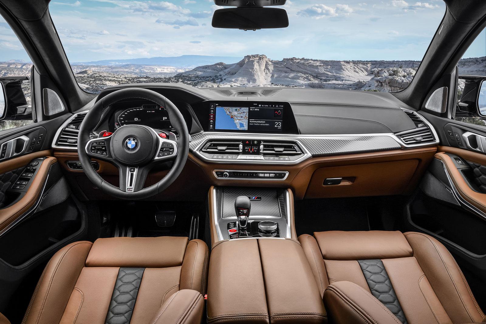 Bmw X5m Competition Interior Design Car Body Design