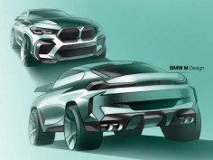 BMW X5 M and X6 M / Competition: the design