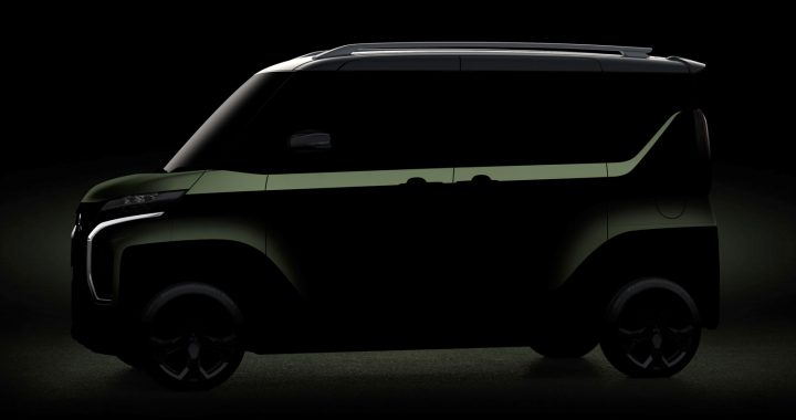 Mitsubishi Super Height K. Wagon Concept preview