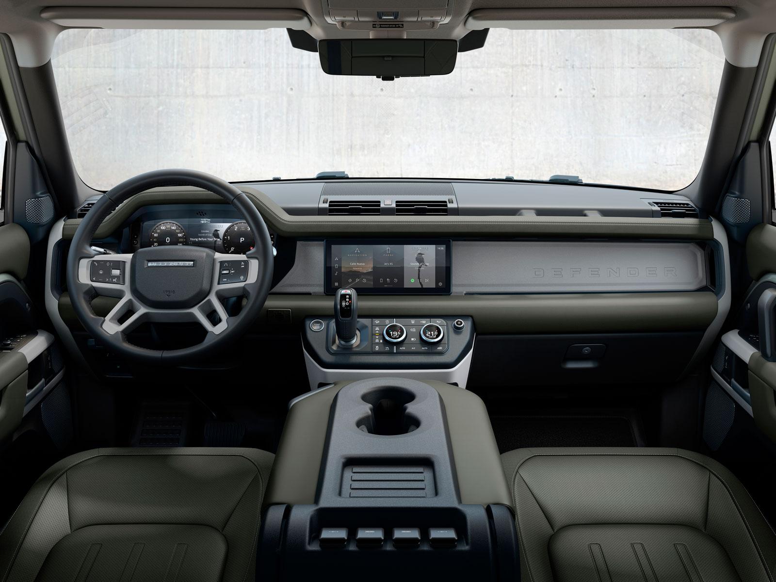 Mini Cooper Interior >> New Land Rover Defender Interior Design - Car Body Design