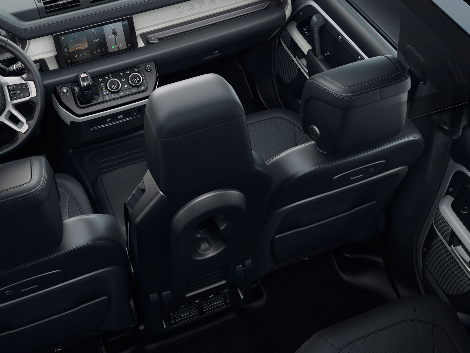 New Land Rover Defender Interior Design