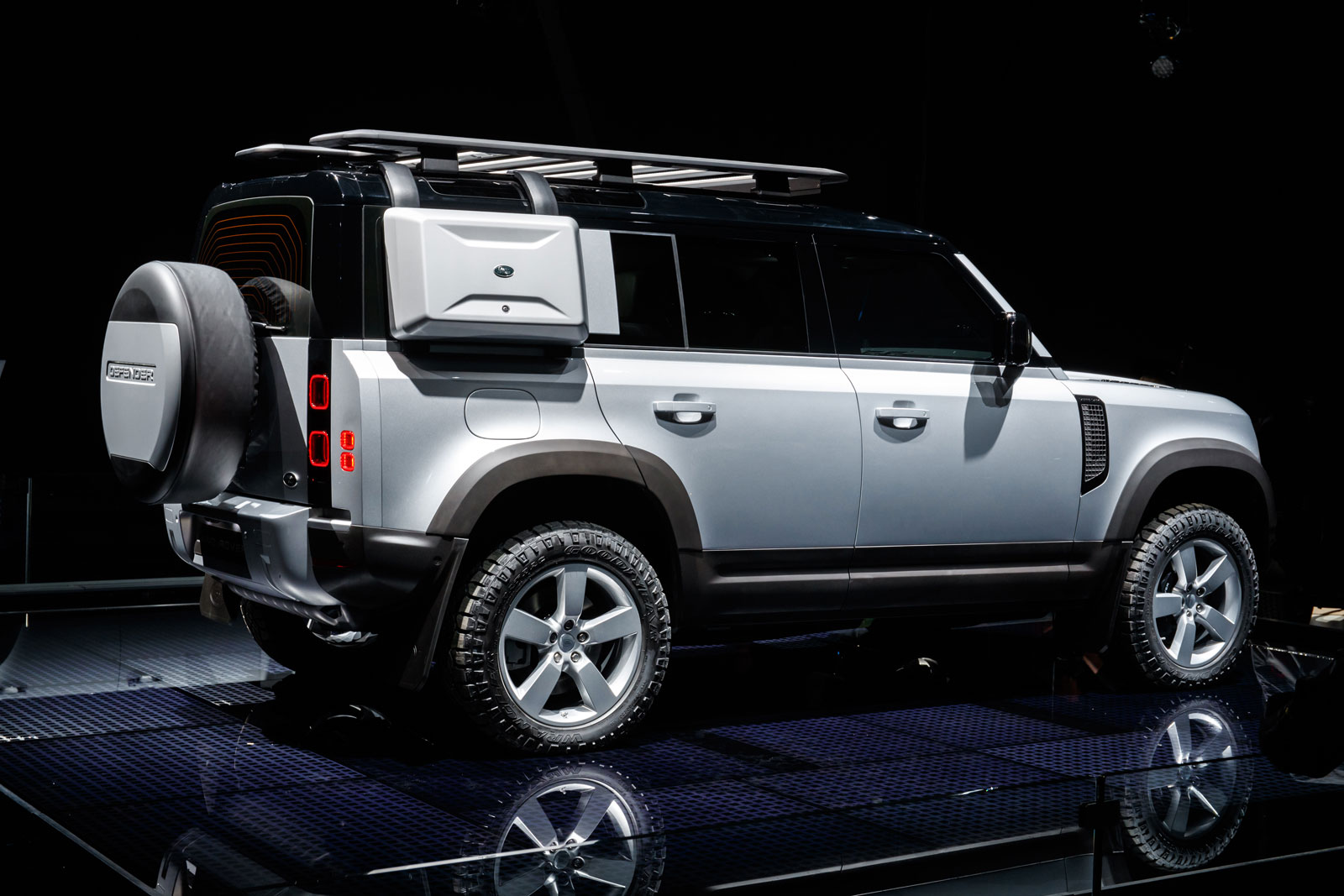 New Land Rover Defender at the 2019 Frankfurt Show