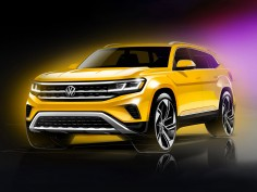 2021 Volkswagen Atlas: design preview