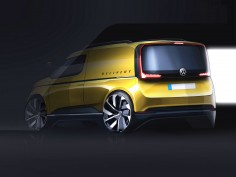 New Volkswagen Caddy: design preview