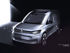 New Volkswagen Caddy: design preview (updated)
