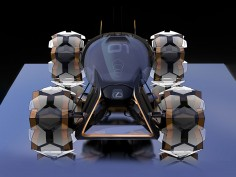 Lexus creates Moon Mobility Concepts for Document Journal magazine