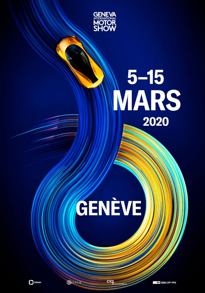 2020 Geneva Motor Show Poster