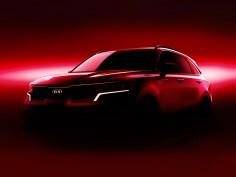 New Kia Sorento: preview design sketches