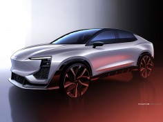 AIWAYS teases U6ion electric crossover concept