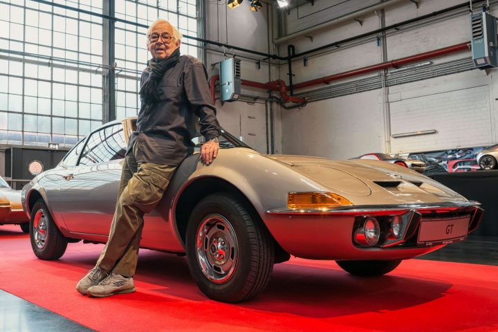 Erhard Schnell and the Opel Experimental GT