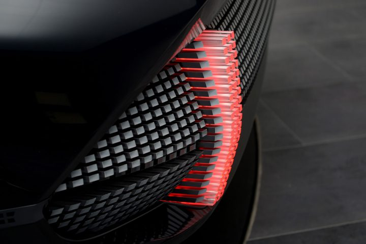 Hyundai Prophecy Concept Tail Light 3D Pattern