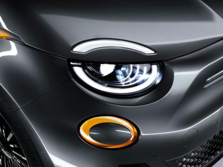 New Fiat 500 Exterior Design Destail Headlight