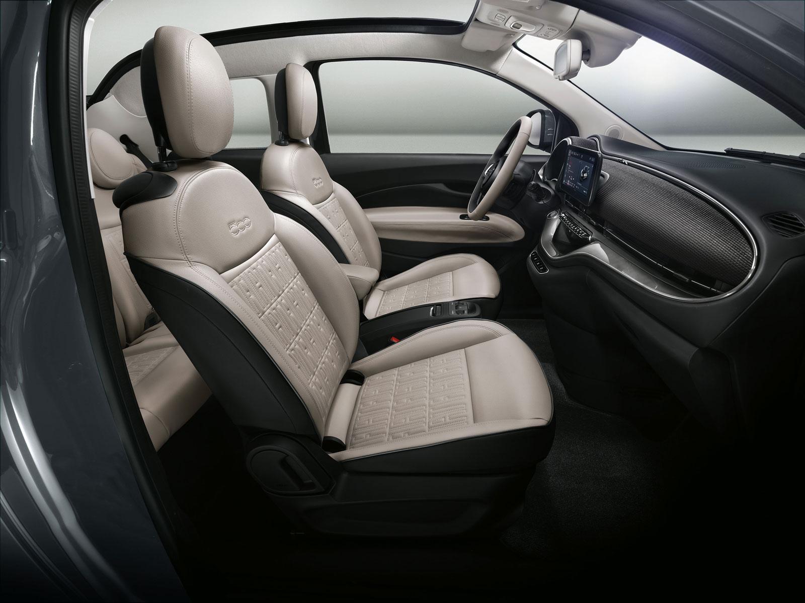 Uitgelezene New Fiat 500 Interior Design - Car Body Design ZQ-45