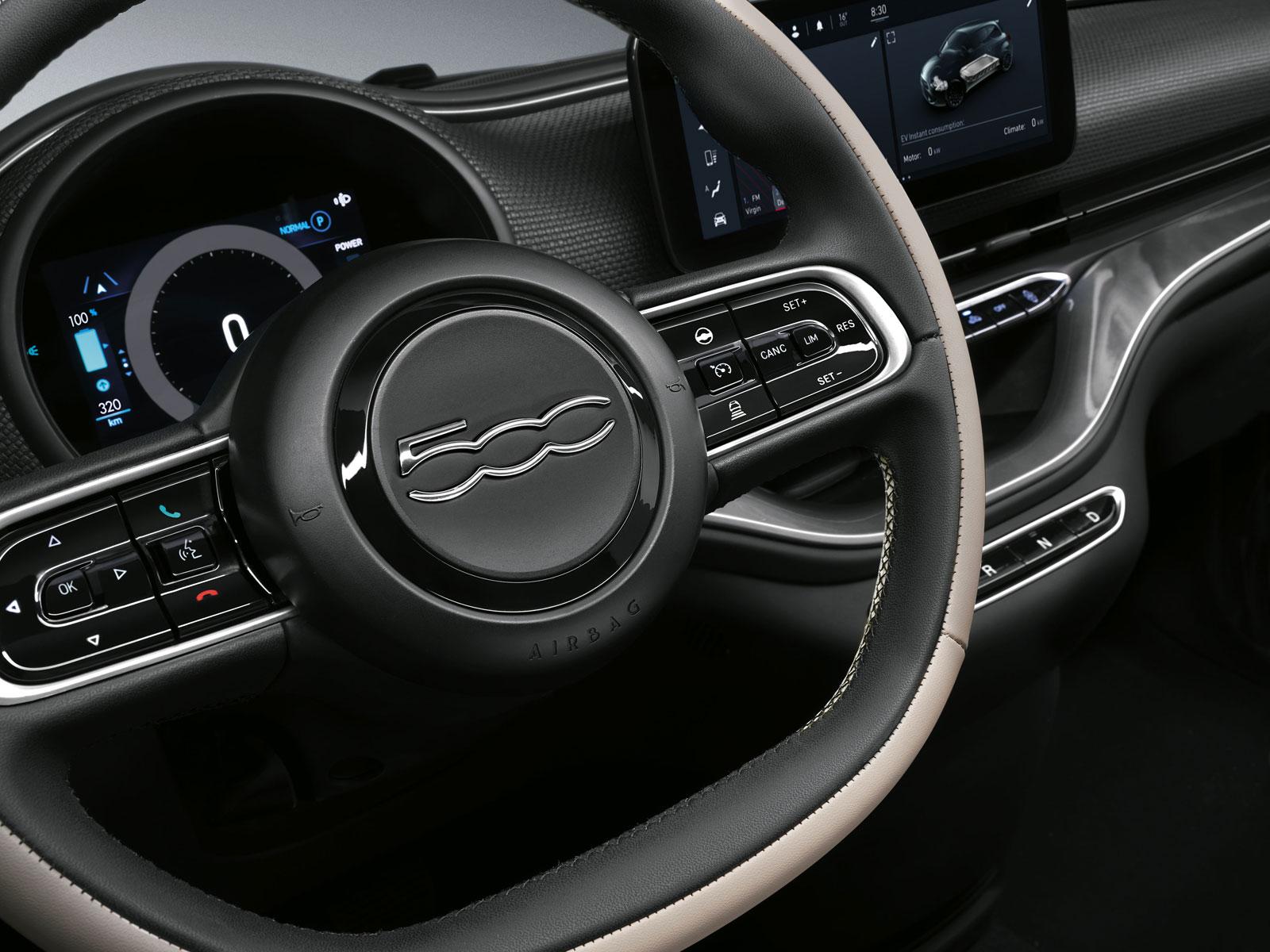 Spiksplinternieuw New Fiat 500 Interior Design - Car Body Design XC-92