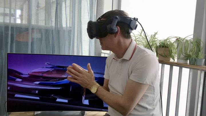 Ford Design using Virtual Reality