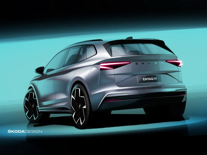 Skoda Enyaq: Design Sketches and Interviews