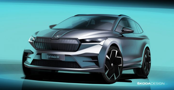 Skoda Enyaq Design Sketch
