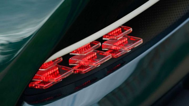 Aston Martin Victor Tail Light Detail