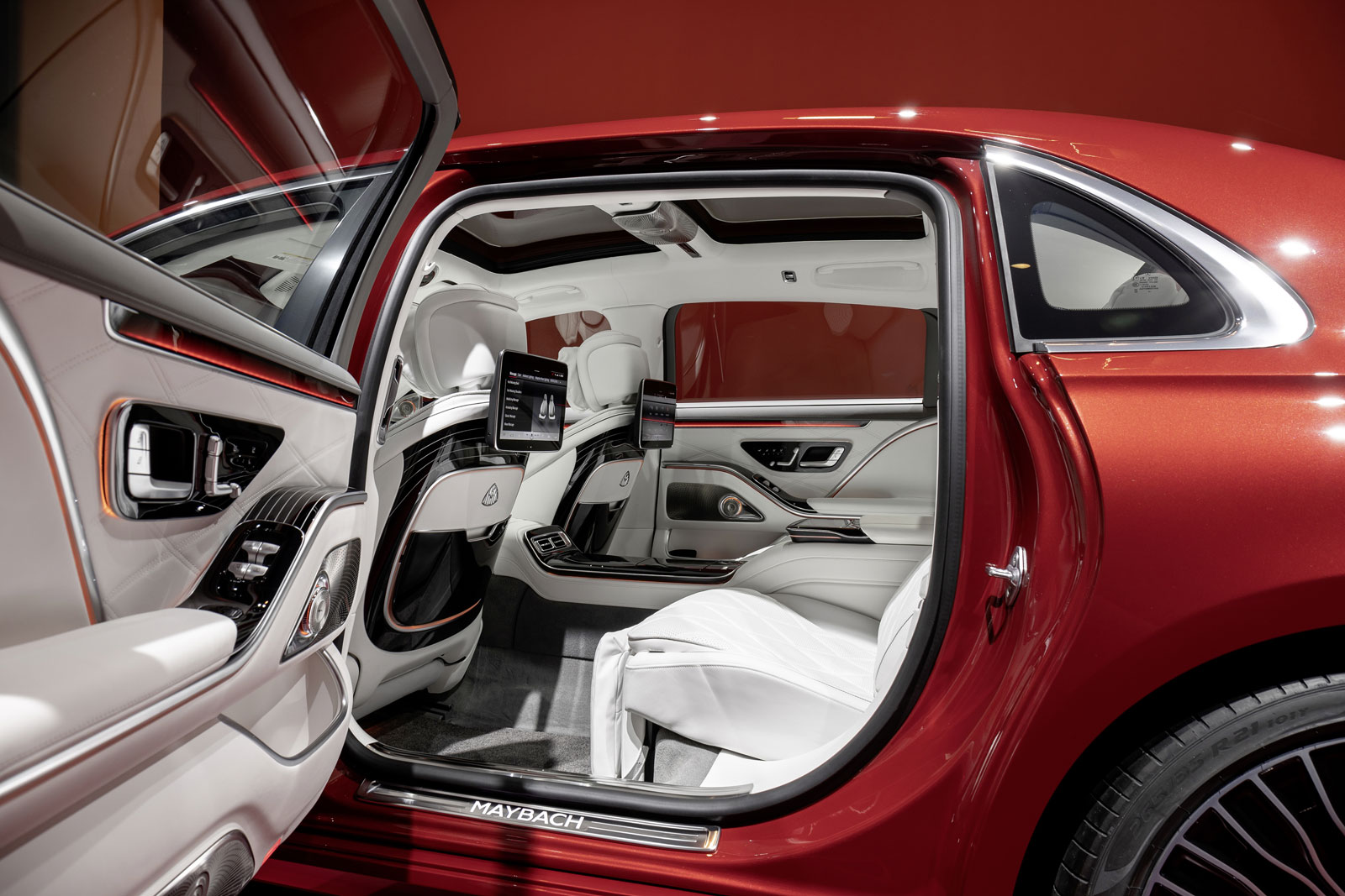 Mercedes Maybach S Class Interior Design