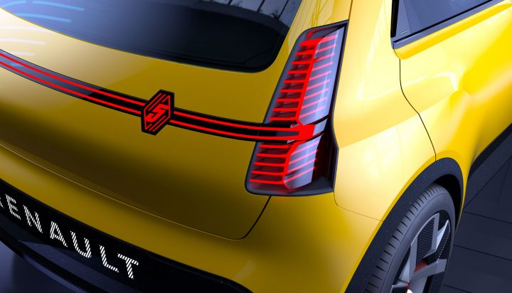 Renault 5 Prototype Tail Light